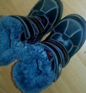 Ботинки зима 27 размер