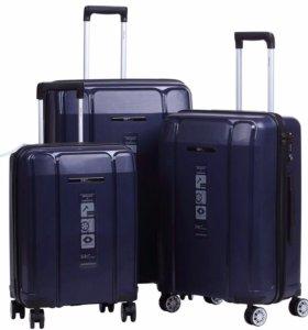 Набор чемоданов (сверхпрочные) новый!
