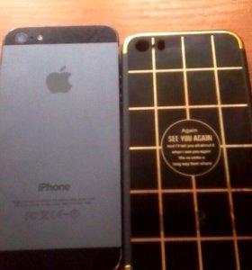 Айфон 5 на 16 чёрный