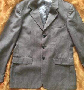 Школьная форма пиджак для мальчика 146 размер