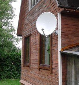 Установка и ремонт ТВ антенн в Сходне
