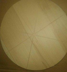 Доска для пиццы (бук) 35см./40см.