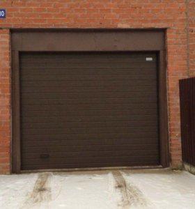 Секционные гаражные ворота 2750х2500