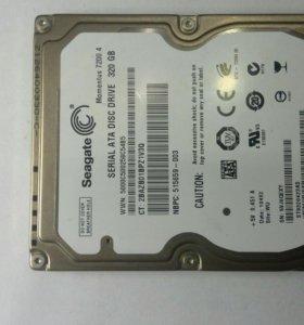 HDD SEAGATE для ноутбука.