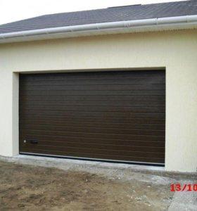 Секционные гаражные ворота 3000х2250