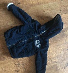 Детская вильветовая куртка