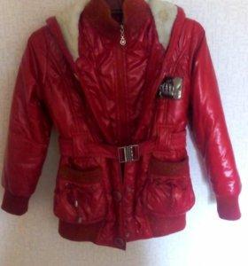 Утепленая куртка