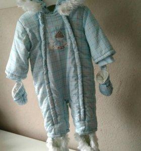 Комбинезон chicco осень - зима для малыша