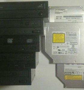 DVD RW приводы SATA IDE для PC и ноутбуков