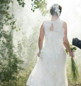 Свадебное платье 50р