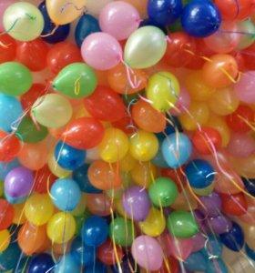 Гелиевые шары, оформление праздника
