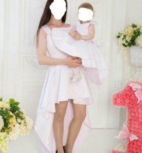 Аренда (детских платьев и юбочек для мам)