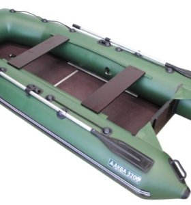 Лодка пвх моторная Аква 3200 СК + слань, киль