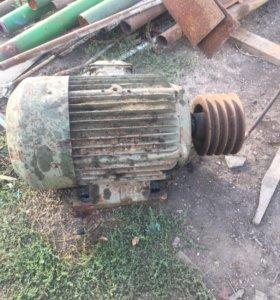 Электро двигатель 30kw