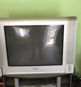 телевизор oniks+подставка