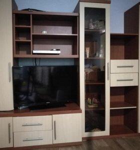 Мебель. Стенка горка +шкаф