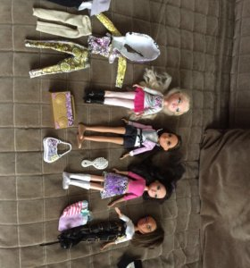 Куклы Moxie и Bratz