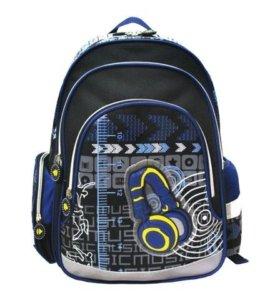 Рюкзак BRAUBERG для нач.школы, синий