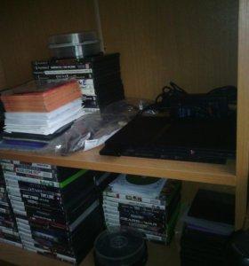 игровые приставки sony ps2,ps3,xbox 360,игры к ним