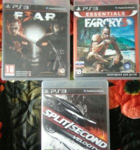Игровые диски на PS 3