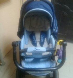 Детская коляска 2 В 1 TUTIS ZIPPY SPORT
