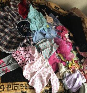 Вещи для девочки пакетом на годик