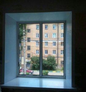 Откосы на окно