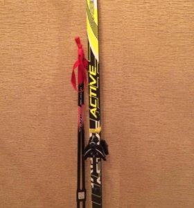 Лыжи и палки