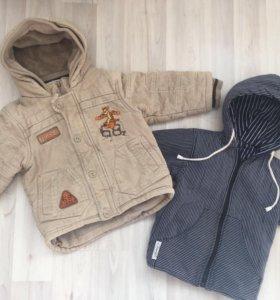 Куртки демисезонные 98.