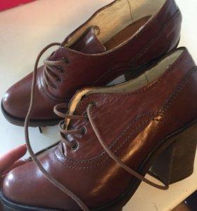 Ботильоны осенние ботинки