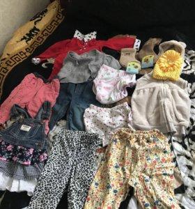 Вещи для девочки с 6 месяцев