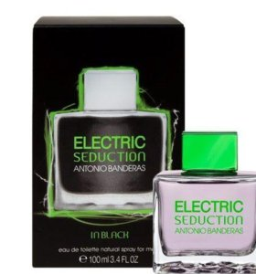 ANTONIO BANDERAS ELECTRIC SEDUCTION BLACK MEN