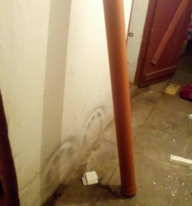 Труба Рыжая диаметр 110 2,5метра