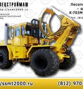 Лесопогрузчик-штабелер К-703М-ЛТ-195-Т