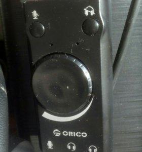 Звуковая USB CARD ORICO SC-1