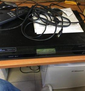 HDD DVD ресивер lg hdr899