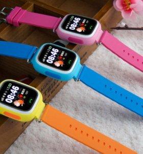 Умные детские часы с GPS Smart Baby Watch Q90