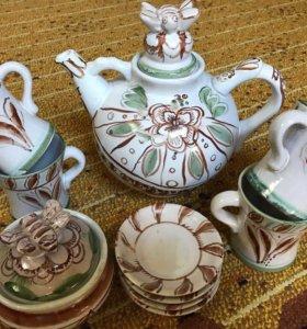 Сервиз керамический чайный