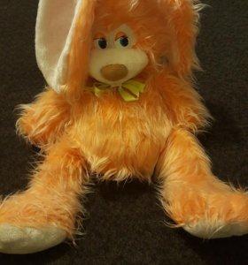 Игрушка мягкий заяц