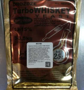 Дрожжи Turbo Whiskey 25л 23гр