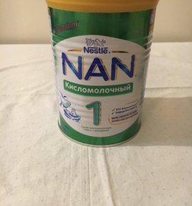 Nan кисломолочный 1, 400гр