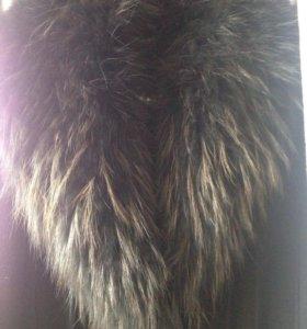 Пальто с мехом Zaal