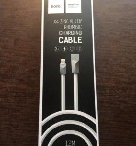 Кабель USB на iPhone 5/6/7 HOCO X4