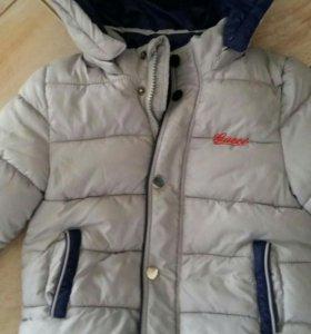 Куртка на мальчика 92-98