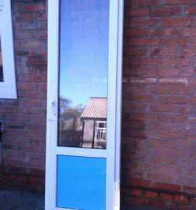 Новая входная дверь 2320х680