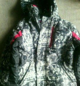 Куртка зимняя р-р 34.