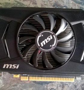 MSI GeForce GTX 750 Ti OC 1GB