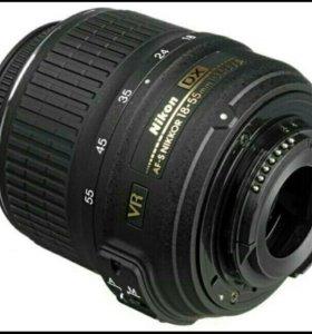Объектив Nikon AF-S 18-55mm f/3.5-5.6G VR DX