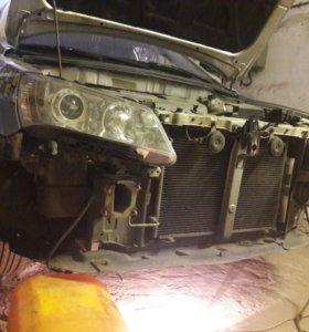 Кузовной ремонт, сварка полу-автоматом.