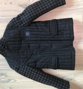 Пальто на мальчика размер 122-128